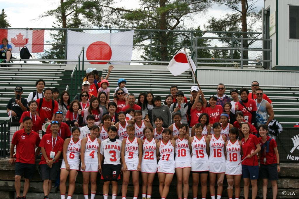 代表 ラクロス 女子 日本